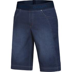 Ocun Mánia Pantalones vaqueros cortos Hombre, dark blue